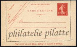 -France Entier Postal  138 CL1 Type Semeuse Camée - Entiers Postaux