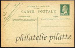 -France Entier Postal  172 CP1 Type Pasteur - Entiers Postaux