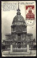CARTE MAXIMUM ANCIENNE- FRANCE- PARIS DOME DES INVALIDES- PALAIS DU LUXEMBOURG 1946- - Cartes-Maximum