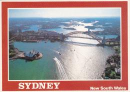 Aerial View Of Sydney Harbour Sydney Australia - Sydney