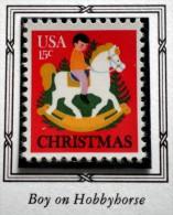 UNITED STATES USA CHRISTMAS BOY ON HOBBYHORSE 15 C 1978 MNH - Unused Stamps