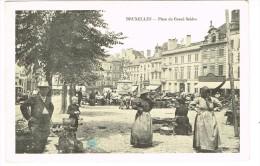 """""""Bruxelles - Place Du Grand Sablon"""" - Places, Squares"""
