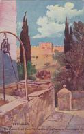 Golden Gate From The Garden Of Gethsemane Jerusalem Jordan