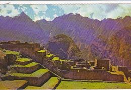 Industrial Section Machupicchu Peru