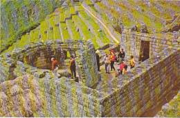 The Tower Of Machupicchu Peru