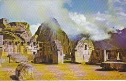 Sacred Plaza and Temple of the 3 Windows Machupicchu Peru