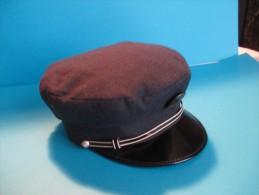 Casquette D'employé De La RATP/Régie Autonome Des Transports Parisien/Vers 1950-60             CCK3 - Headpieces, Headdresses