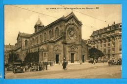 CP, 75, PARIS, Eglise Notre-Dame Des Champs, Vierge - Eglises
