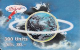 SWITZERLAND - Earth, Global Line Prepaid Card CHF 30, Exp.date 29/02/00, Used - Switzerland