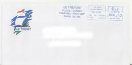 EMA HH 045644 Eu CDIS Seine Maritime + Flamme Le Tréport 76 Sur Env De La Mairie - Casino Bateau - EMA (Print Machine)