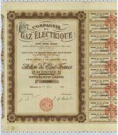 Cie Du Gaz Electrique à Billancourt - Electricité & Gaz