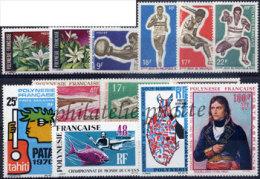-Polynésie Année Complète 1969 - Années Complètes