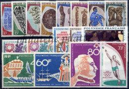 -Polynésie Année Complète 1968 - Années Complètes