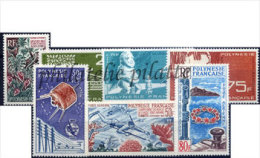 -Polynésie Année Complète 1965 - Années Complètes