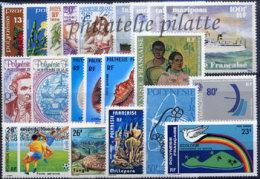 -Polynésie Année Complète 1978 - Années Complètes