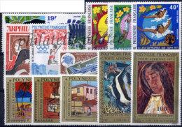 -Polynésie Année Complète 1975 - Années Complètes
