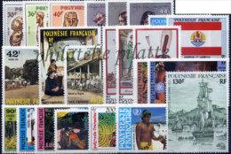 -Polynésie Année Complète 1985 - Années Complètes