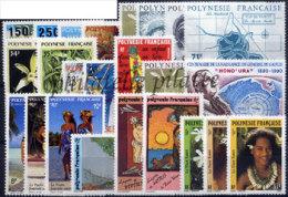 -Polynésie Année Complète 1990 - Années Complètes
