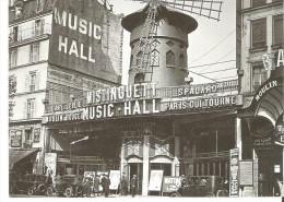 """Paris La Revue Mistinguett Au Moulin Rouge, Paris 1925  7.2"""" X 5""""   17.8 Cm X 12.5 Cm - Paris La Nuit"""