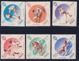 Lebanon, Scott # B13-5,CB12-4 Mint Hinged Olympics, 1961 - Liban