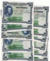 100 Pesetas 1925 - [ 2] 1931-1936 : Republic
