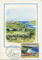 ITALIA - FDC MAXIMUM CARD 1981 -  TURISMO - SANTA TERESA DI GALLURA - ANNULLO SPECIALE - Cartoline Maximum