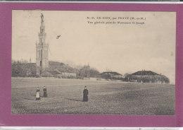 54.- N.D.DE SION , Par PRAYE .- Vue Générale Prise Du Monument St-Joseph - Francia