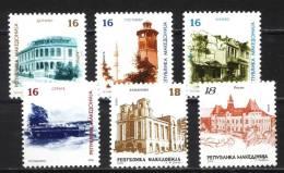 LOT MAC 0918 - Macedonia 2009 - Macedonian Towns (reg. Stamps) - Macedonia