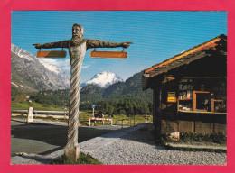 MALOJA KULM,WEGWEISER,SWITZERLAND.U21. - Zwitserland