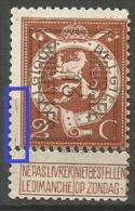 PO 41 (*)  Griffes Marge  BXL - Typo Precancels 1912-14 (Lion)