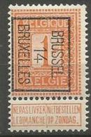 PO 45  **  BXL - Typo Precancels 1912-14 (Lion)