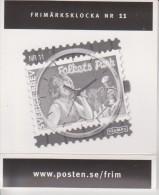 Sweden Stamp Watch - Briefmarken Uhr - Nr. 11 - Folkets Park - Lill-Babs - Singer  - 2012 - Juwelen & Horloges