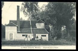 Cpa Du 91 Mennecy La Pêche Tranquille  -- Cheminée De La Friture    FEV7 - Mennecy