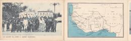¤¤  -  Carte Triple De L´Afrique Occidentale Française  -  DAHOMEY à Abomey , SENEGAL à Dakar   -  ¤¤ - Dahomey