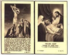 Doodsprentje Thomas-Joseph MOLLEKENS Wed. Maria Anna Vervondel Dilbeek 1875 - 1948 - Devotion Images