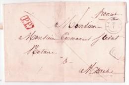 L. T18 LAROCHE + CA + P.P De La Perception Pour Marche - 1830-1849 (Belgique Indépendante)