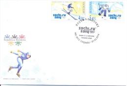 2014.  Winter Olympic Games Sochi, FDC With Set, Mint/** - Winter 2014: Sochi