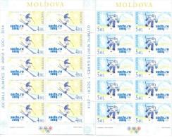 2014.  Winter Olympic Games Sochi, 2 Sheetlets, Mint/** - Winter 2014: Sochi