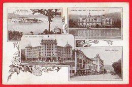 [DC6134] LAGO MAGGIORE - STRESA - Viaggiata - Old Postcard - Verbania