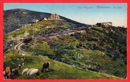 [DC6137] LAGO MAGGIORE - MOTTARONE - LA VETTA - Viaggiata 1927 - Old Postcard - Verbania