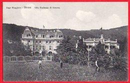 [DC6139] LAGO MAGGIORE - STRESA - VILLA DUCHESSA DI GENOVA - Viaggiata 1910 - Old Postcard - Verbania