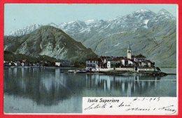 [DC6141] ISOLA SUPERIORE - Viaggiata - Old Postcard - Verbania