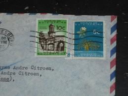 LETTRE AFRIQUE DU SUD AVEC YT 254 ET 256 - CHATEAU DE CAPE TOWN - ARBRE BAOBAB - - Afrique Du Sud (1961-...)