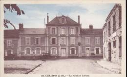 EURE ET LOIR – GALLARDON – La Mairie Et La Poste - Autres Communes