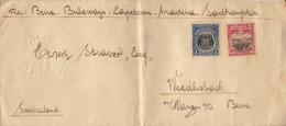 Lettre 1928 à Wiedlisbach Am Wangen Bern / Mozambique Via Beira, Bulaways, Captown, Madeira, Southampton - Covers & Documents