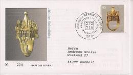 2010  Deutschland Yv  2609  Mi  2784 FDC  Hochzeitsring Aus Dem Jüdischen Schatz Von Erfurt - [7] Repubblica Federale