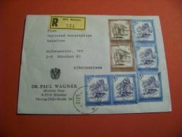 Österreich  1974  Mi. 1442 + 1975 Mi. 1476   Freimarken        / Stempel    ( 15 ) - Entiers Postaux