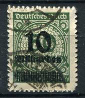 17389) DEUTSCHES REICH # 336 B Gestempelt GEPRÜFT Aus 1923, 50.- € - Deutschland