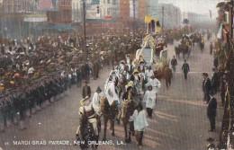 Fêtes - Carnaval -  Mardi Gras -  Parade New Orleans - Char Défilé - Carnaval