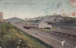 Amérique - Panama - Gare Chemins De Fer - Culebra Village - Canal Zone - Panama